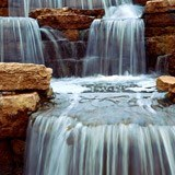 Wall Murals: Waterfall and stones 3