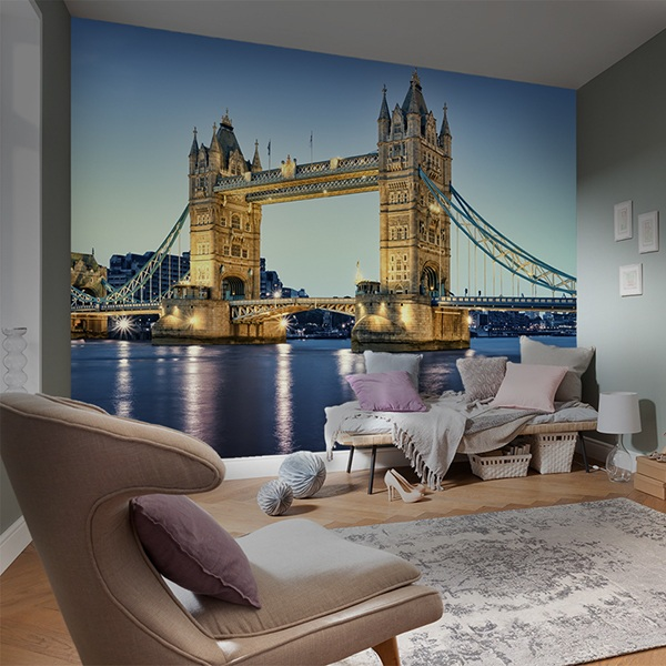 Wall Murals: Tower Bridge of London