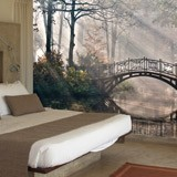 Wall Murals: Bridge in the forest 2