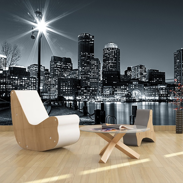 Wall Murals: Nightly Boston