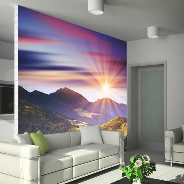 Wall Murals: Majestic sunset