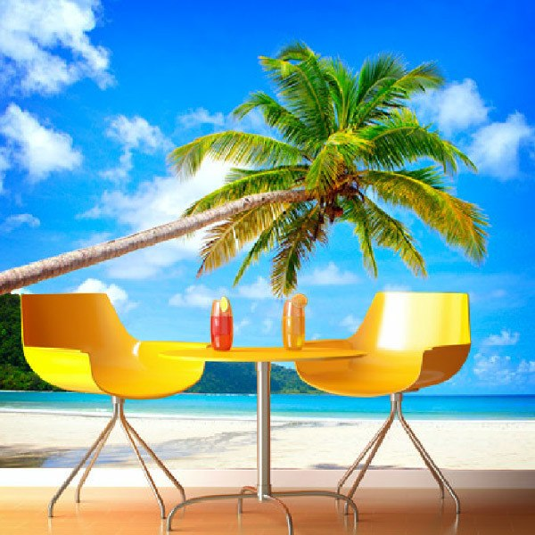 Wall Murals: Tropical Palm 0