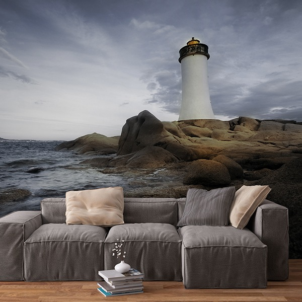Wall Murals: Maritime lighthouse