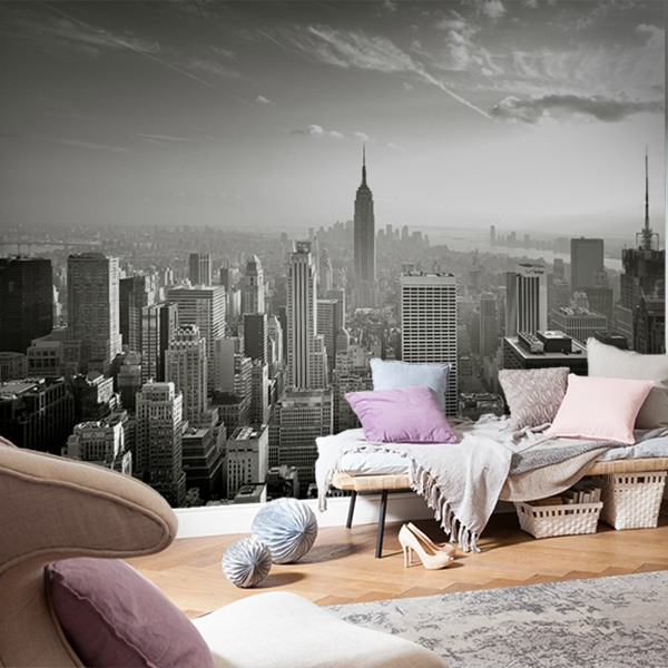 Wall Murals: New York skyline