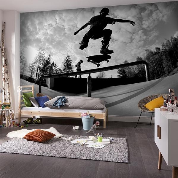 Wall Mural Skate Muraldecal Com