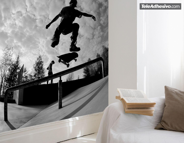 skate wall murals skate