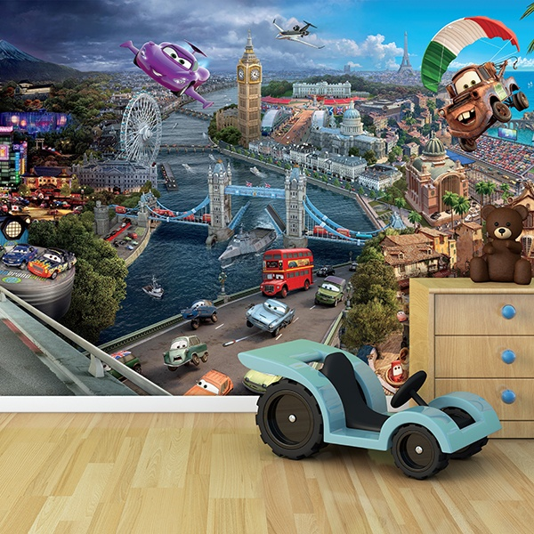 Wall Murals: Cars Movie