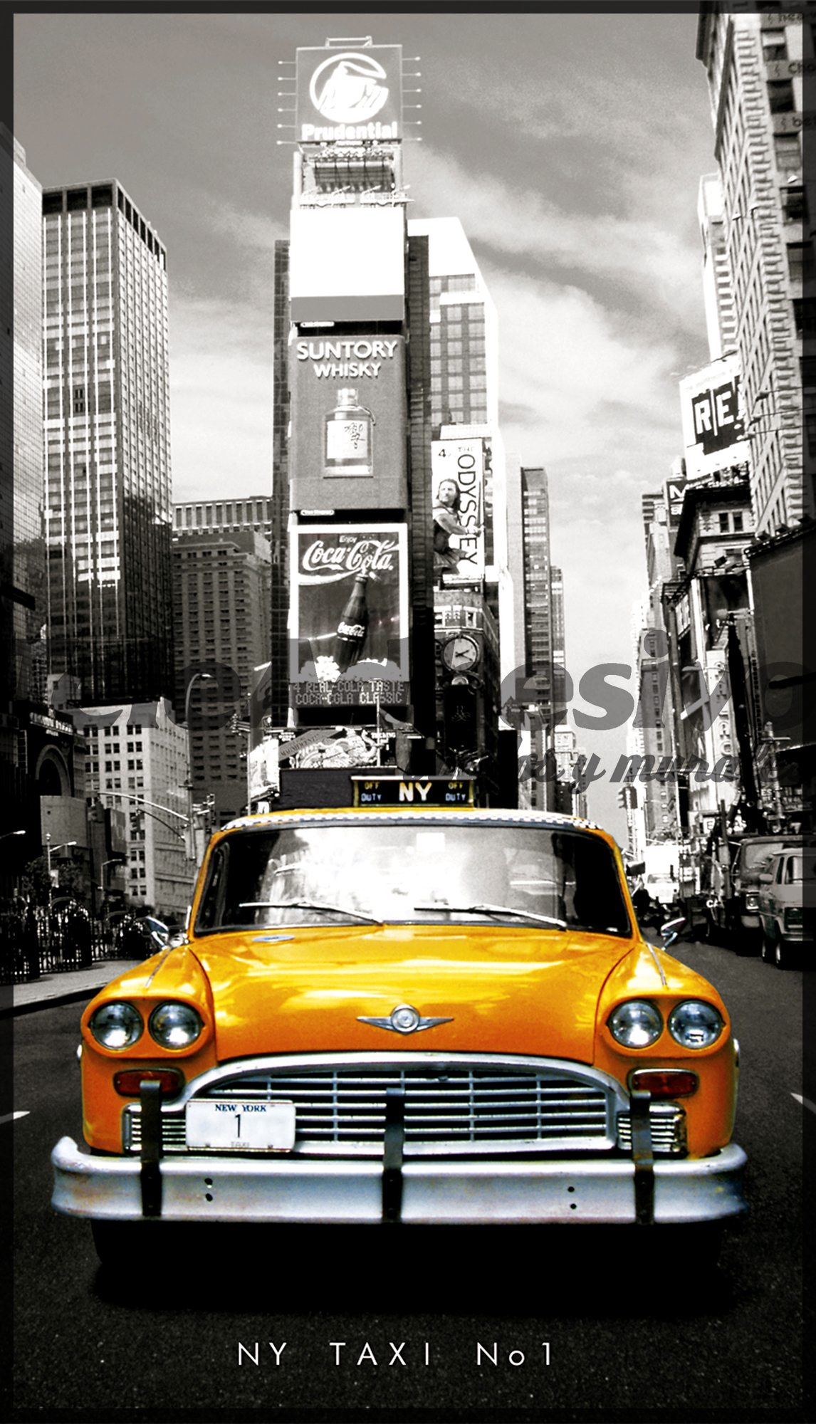 Wall Murals: Taxi Nº1 Part 60
