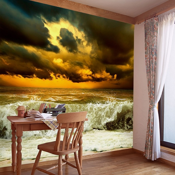 Wall Murals: Swell before the storm