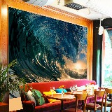 Wall Murals: Under the wave 2