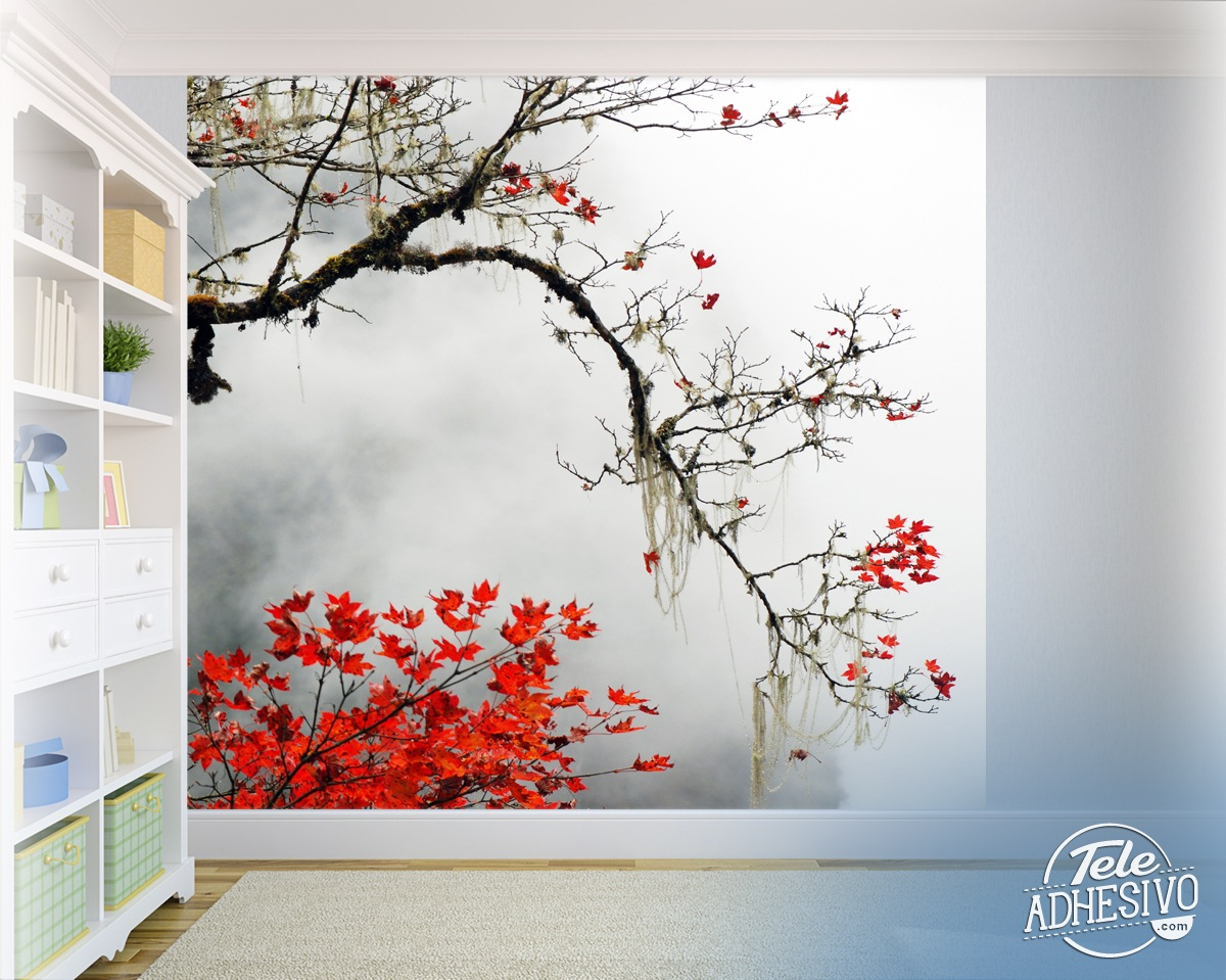 japanese maple japanese anime mural 187 gadget flow