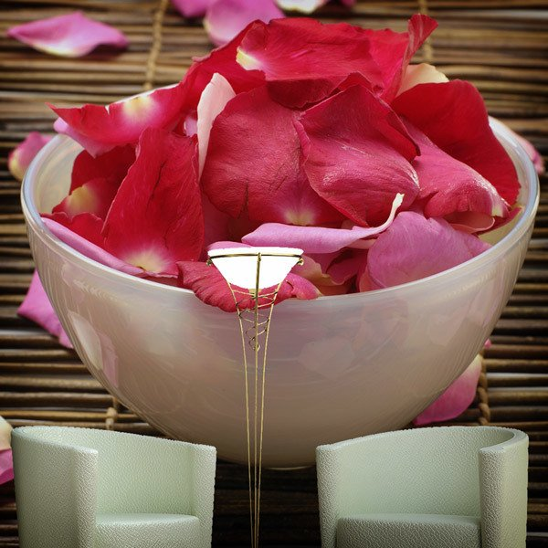 Wall Murals: Bowl of petals