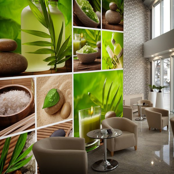 Wall Murals: Oils and salts