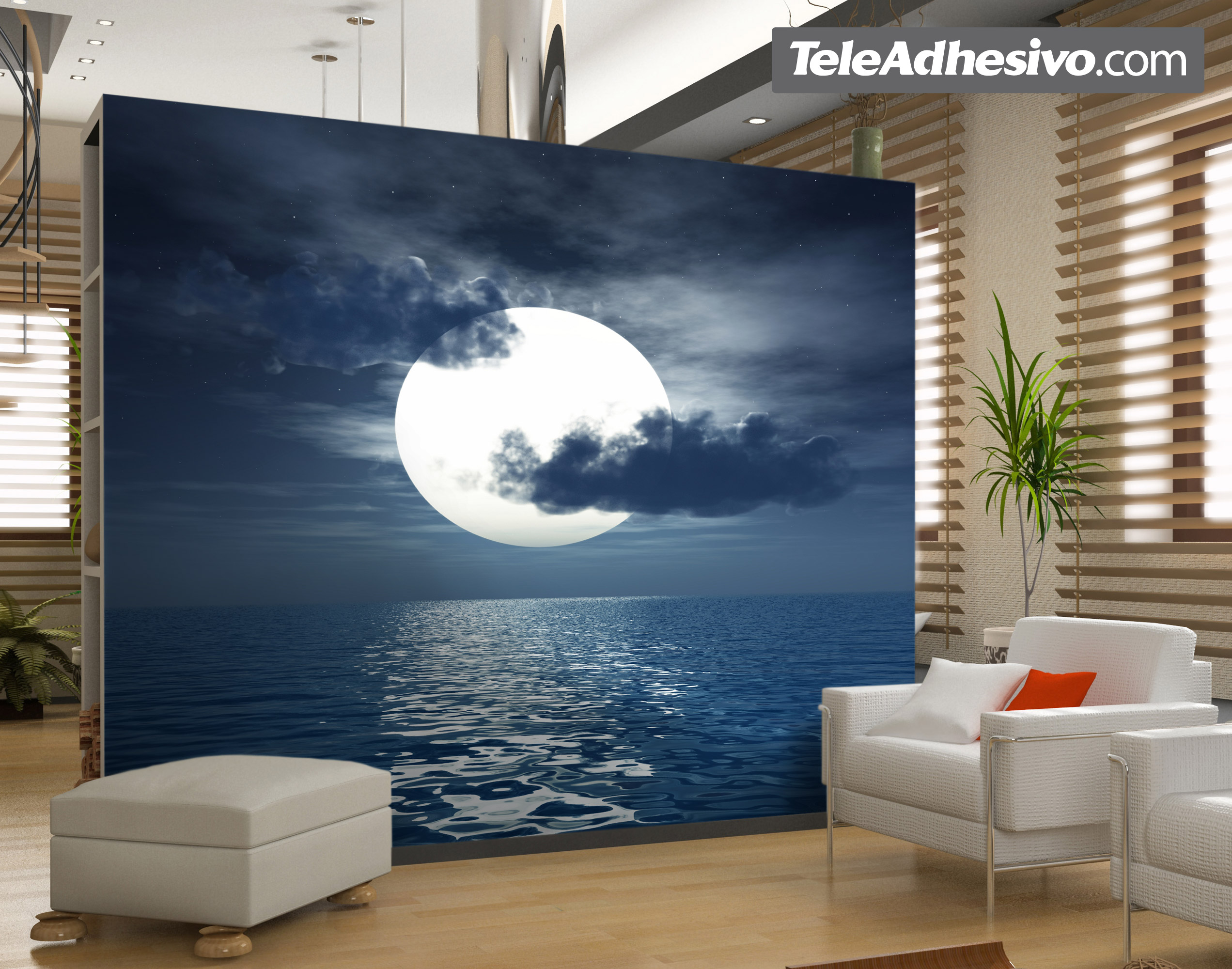 Wall Murals Moon 3