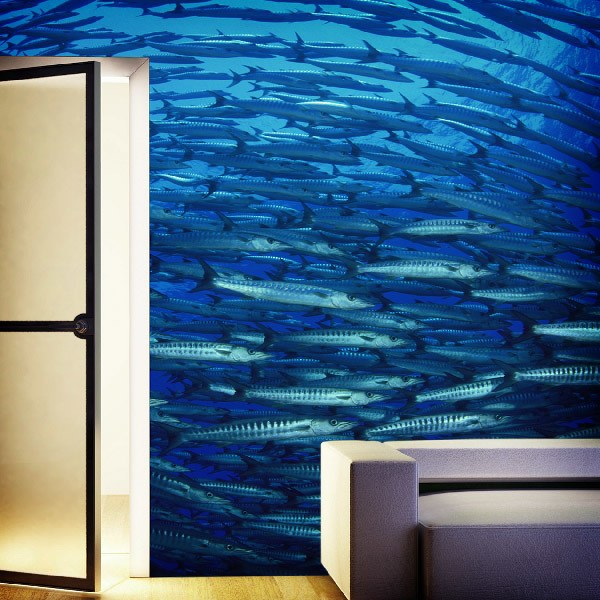 Wall Murals: School of Fish