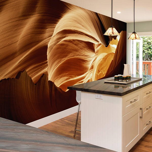 Wall Murals: Antelope Canyon