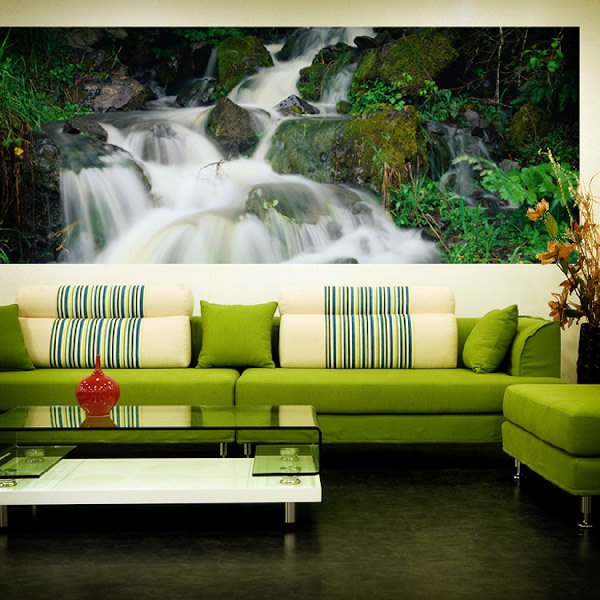Wall Murals: Panoramic river
