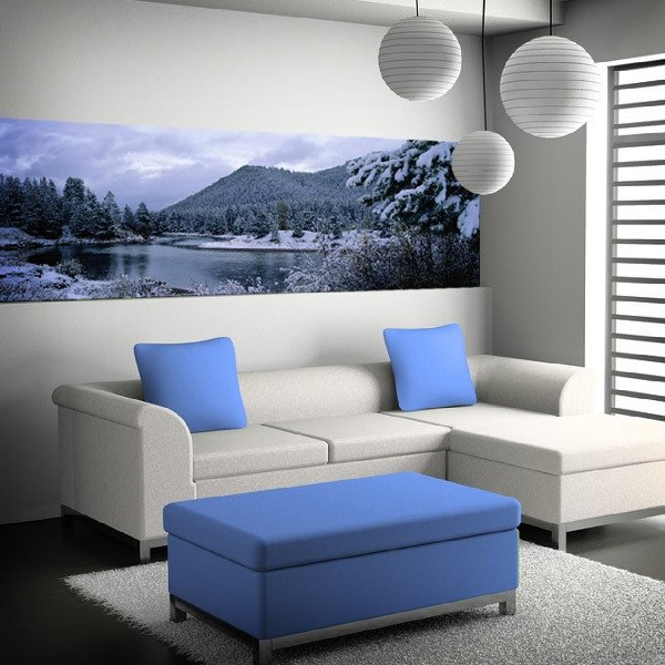 Wall Murals: Winter landscape