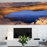 Wall Murals: Crack in the rocks 3