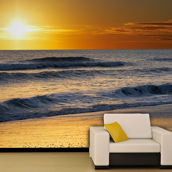 Wall Murals: Surf on the beach