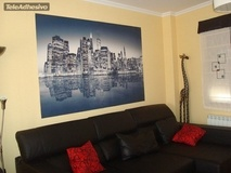 Wall Murals: Blue Night Manhattan 4