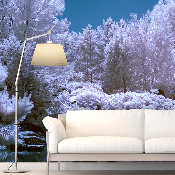 Wall Murals: Forest in winter 0