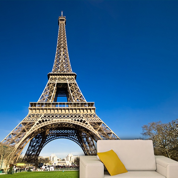 Wall Murals: Eiffel Tower from the Field of Mars