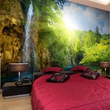 Wall Murals: Waterfall in the forest 2