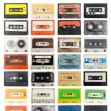 Wall Murals: Cassette tapes 2