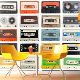 Wall Murals: Cassette tapes 3
