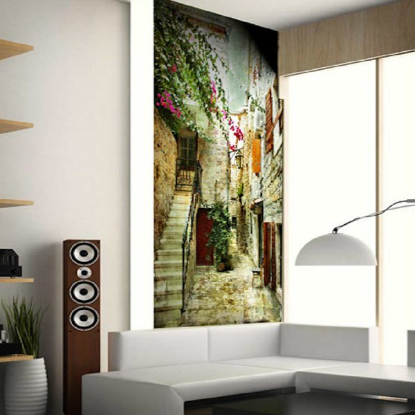 Wall Murals: Little town