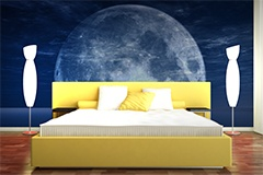 Wall Murals: Moon and Sea 5