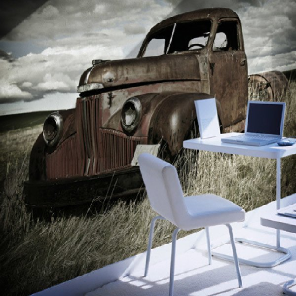 Wall Murals: Vintage car