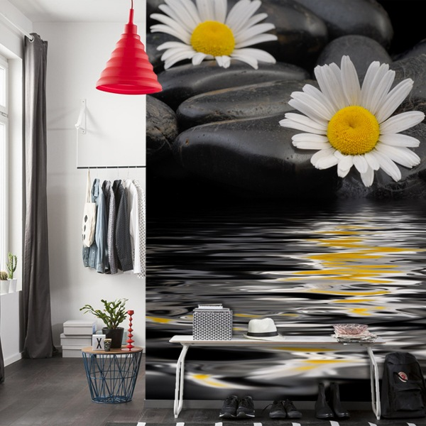 Wall Murals: Flowers Relax
