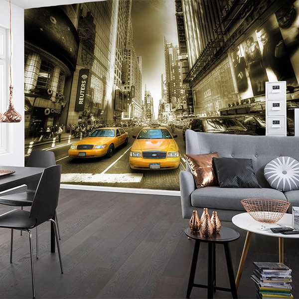 Wall Murals: New York High Light