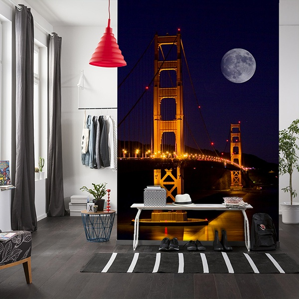 Wall Murals: Bridge Golden Gate
