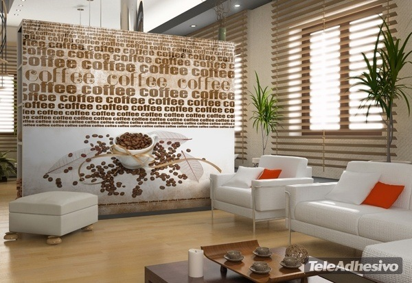 Wall Murals: Coffee