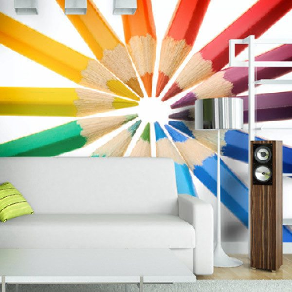 Wall Murals: Colored pencils 0