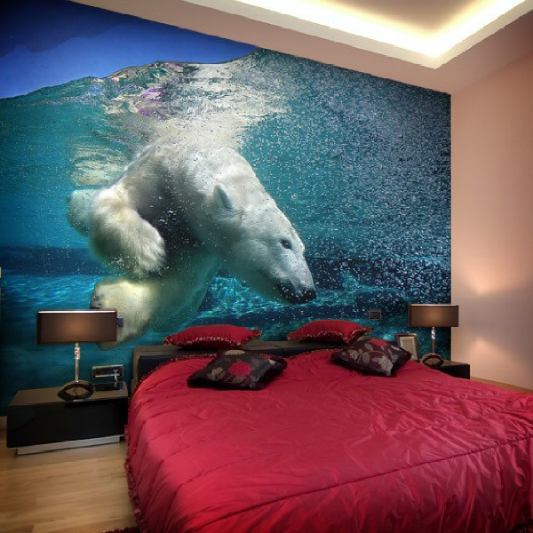 Wall Murals: Polar Bear
