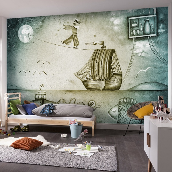 Wall Murals: Ship