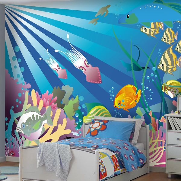 Wall Murals: Seabed 4