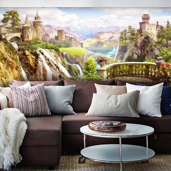 Wall Murals: Castles valley
