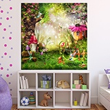 Wall Murals: The Garden Fairy 2