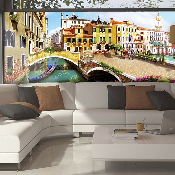 Wall Murals: Walk around Venice 2