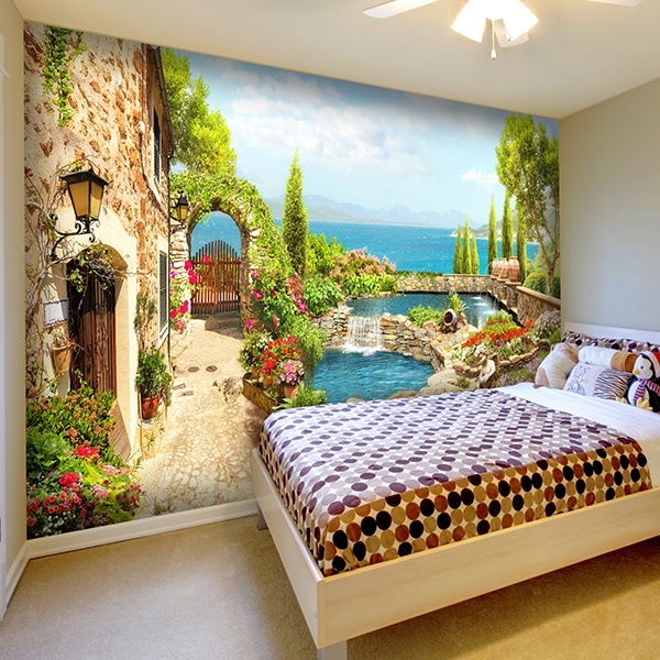 Wall Murals: Sources near Sea Garden