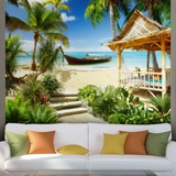 Wall Murals: Dream beach 2