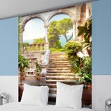 Wall Murals: Stairs old 2