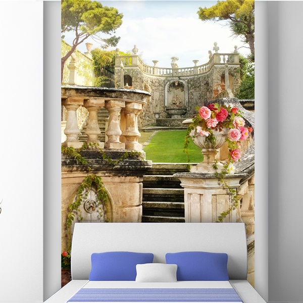 Wall Murals: Old palace garden