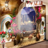 Wall Murals: Balcony in Istanbul 2
