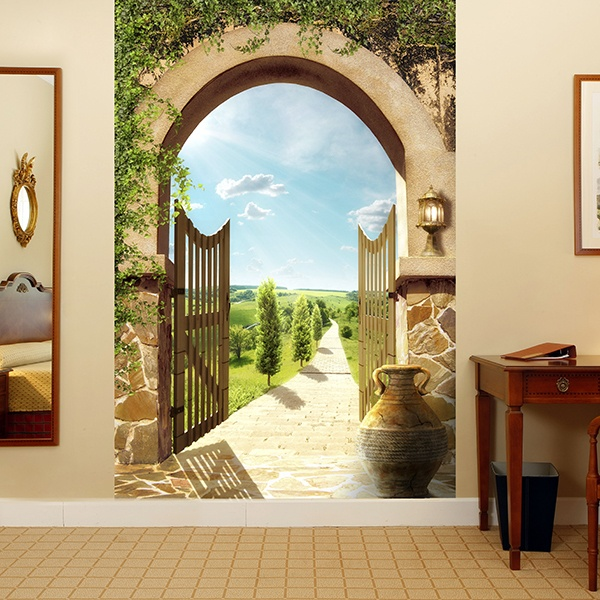 Wall Murals: Country villa
